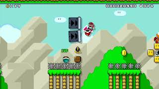 Surfing Trifecta Perfecta: Beating Super Mario Maker