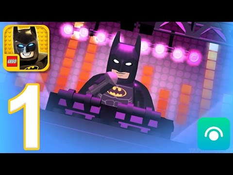 LEGO Batman Movie Game - Gameplay Walkthrough Part 1 - Batman (iOS, Android)