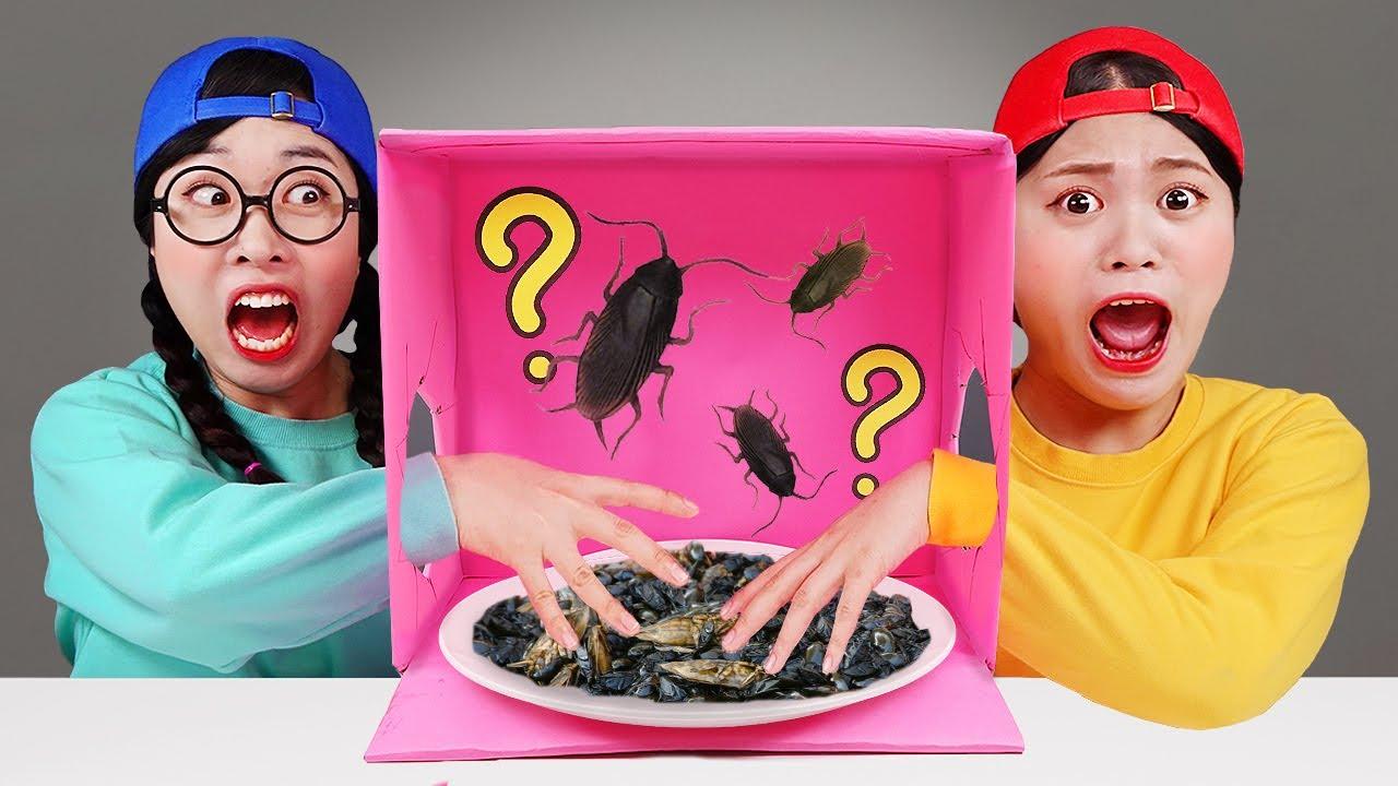 Mystery Box Food Challenge DONA