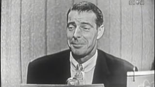 What's My Line? - Joe DiMaggio (Sep 18, 1955)