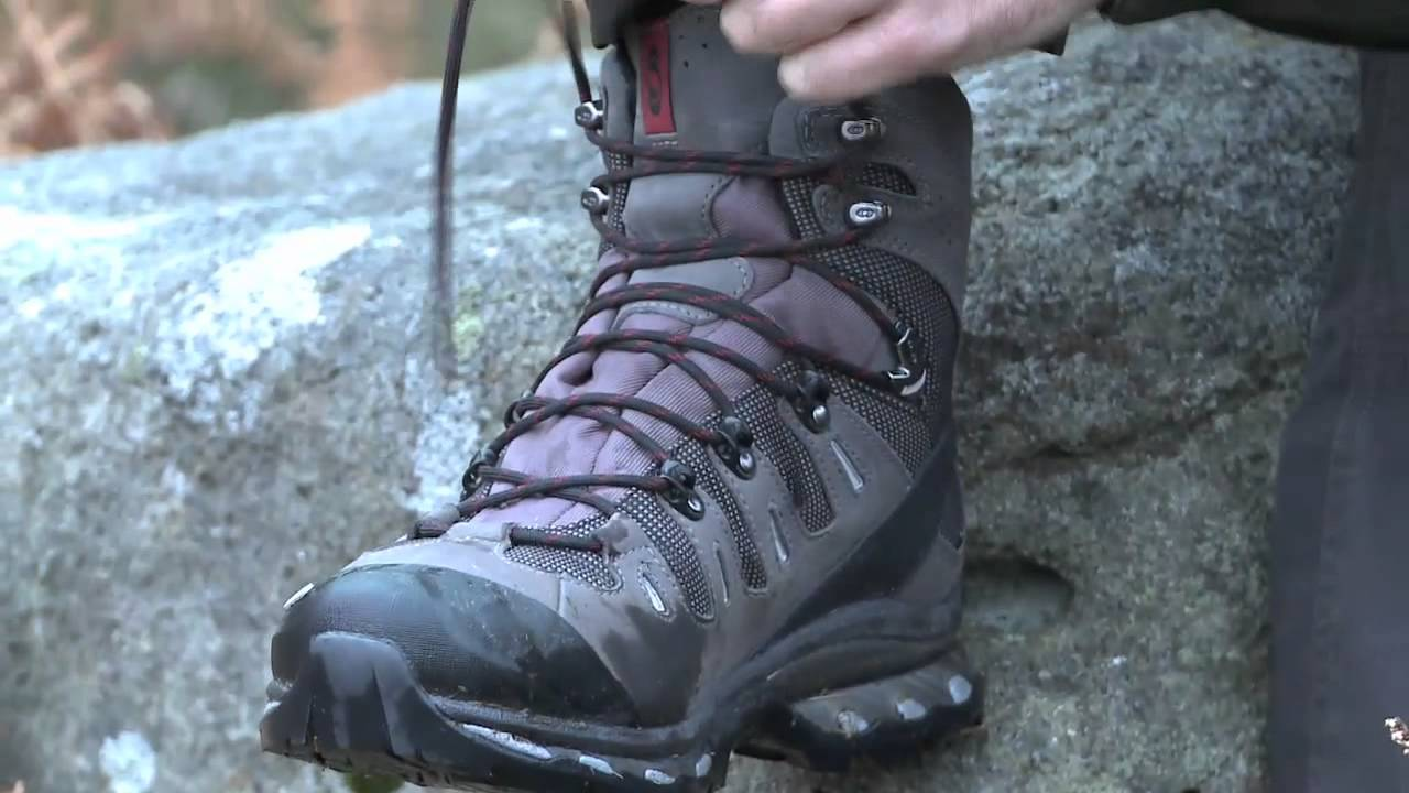 Salomon Quest 4d Walking Boots Video Review Go Outdoors