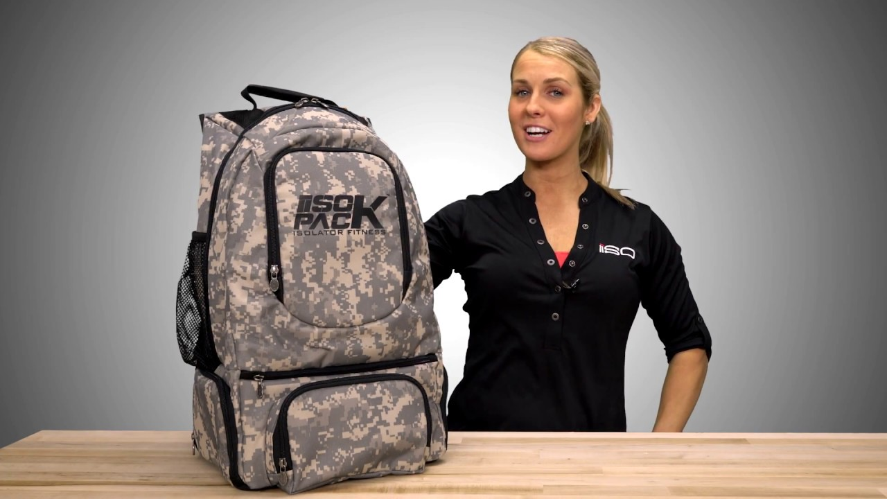 e38732852c1a Isopack Military Color Backpack by Isolator Fitness - YouTube