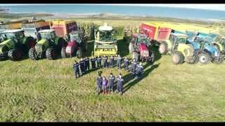 Silage 2015 - Drone Film - RG Contracting