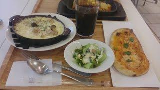 『モッチーナ』で鉄板スパ・ドリア・ピザを食べたよ☆生パスタとピザのお店 フードコート