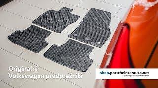 Originalni gumijasti tepihi Volkswagen - Originalna dopolnilna oprema