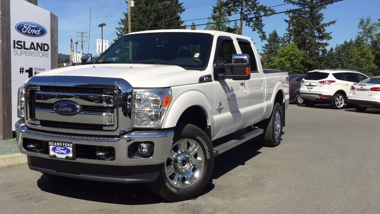 2016 ford super duty f 350 lariat fx4 4x4 srw review island ford