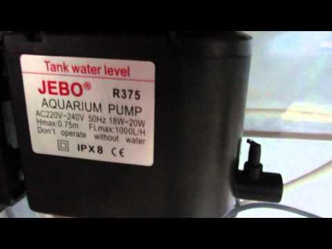 Аквариум jebo R375 - 140 литров!