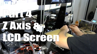 anet a8 3d printer build guide part 4 z axis lcd screen