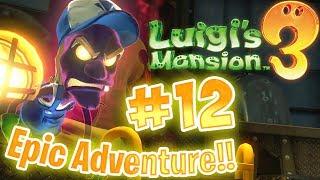 Luigis Mansion 3 Gameplay  Walkthrough  12 Boilerworks B2  бґґбґ°