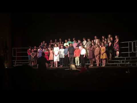 """East Rochester School District 7th & 8th Grade sings """"Helpless"""" from Hamilton"""