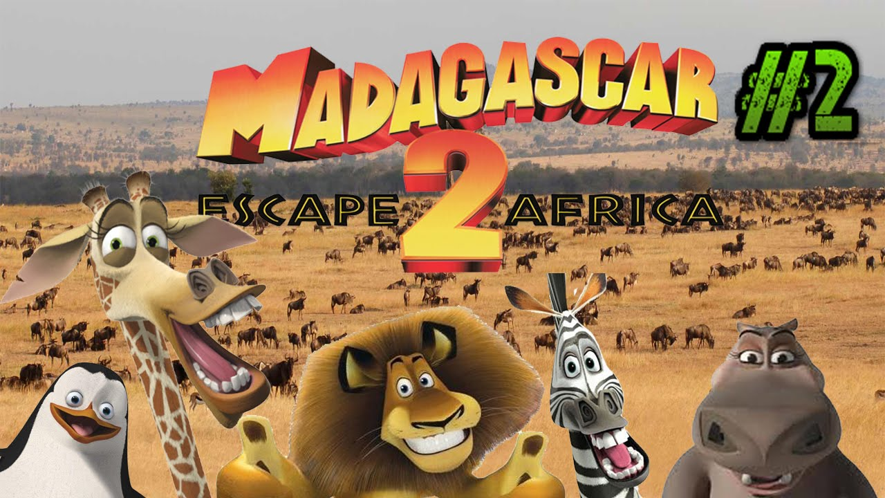 Let's Play: Madagascar Escape 2 Africa for the PS2: Part 2: Gameplay and  Commentary