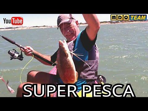 Increíble Pesca en Mar Chiquita con amigos suscriptores
