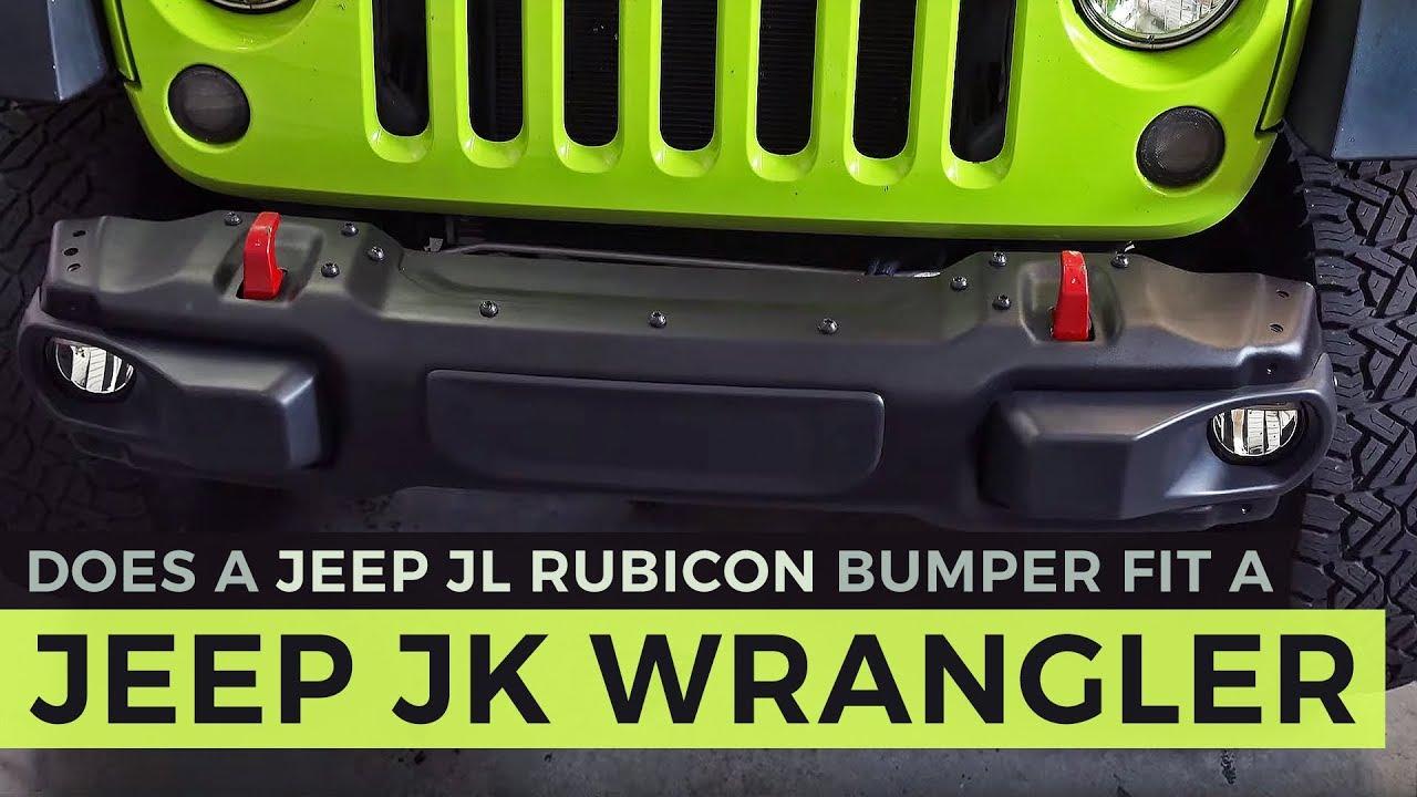 Jeep Jl Bumper On Jk