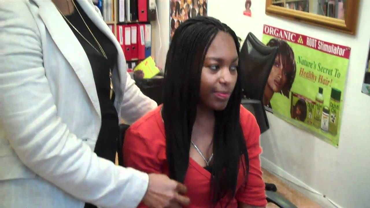 Learn Micro Braids With Kanekalon Extensions 2 Youtube