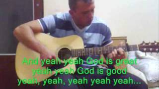 Joan Osbourne - What if God was one of us (acoustic karaoke)