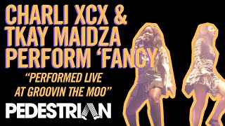Charli XCX and Tkay Maidza Perform