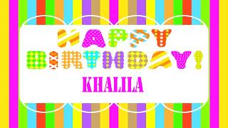 Khalila   Wishes & Mensajes - Happy Birthday