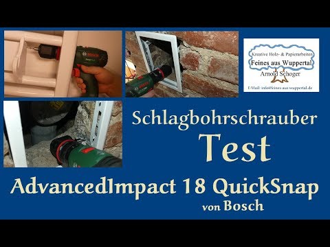 Bosch AdvancedImpact 18 QuickSnap Test