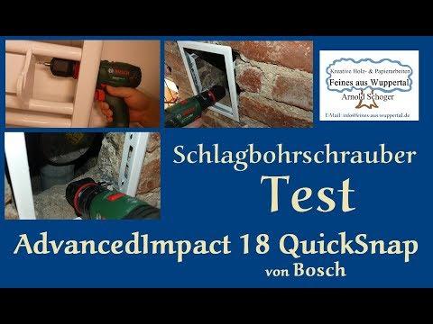 Bosch AdvancedImpact 18 QuickSnap Test