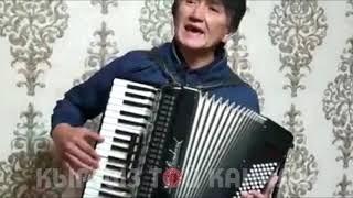Элдик талант аккордеондо мыкты ырдады