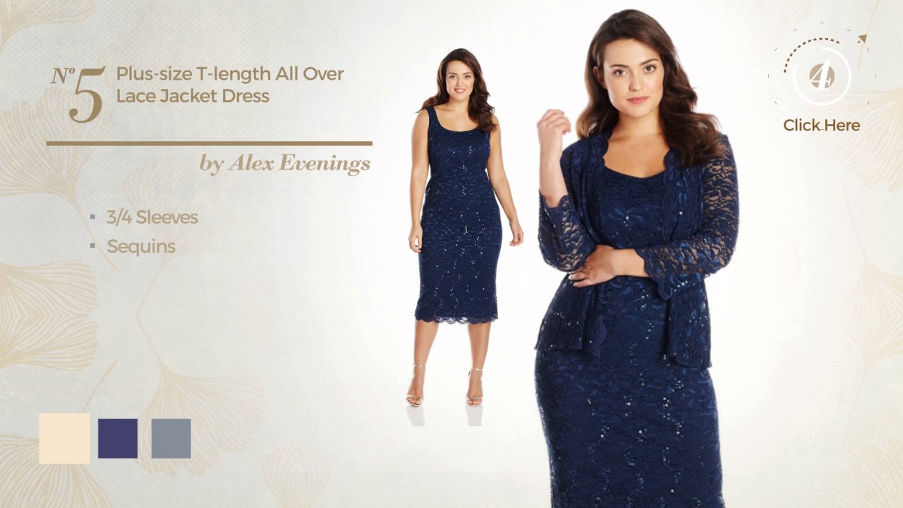 10 Top Selected Mother Of The Bride Dresses Plus Size