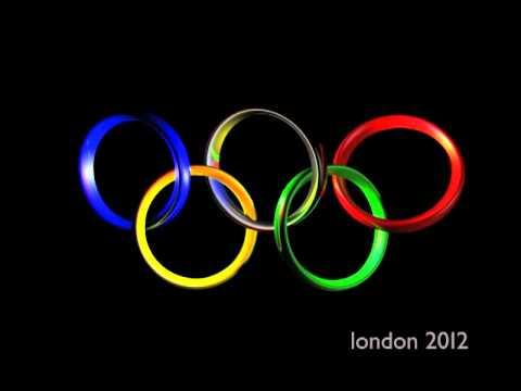 3D London Olympic Rings
