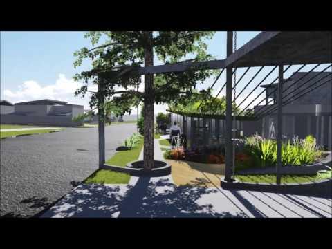 Caloundra corner street design project