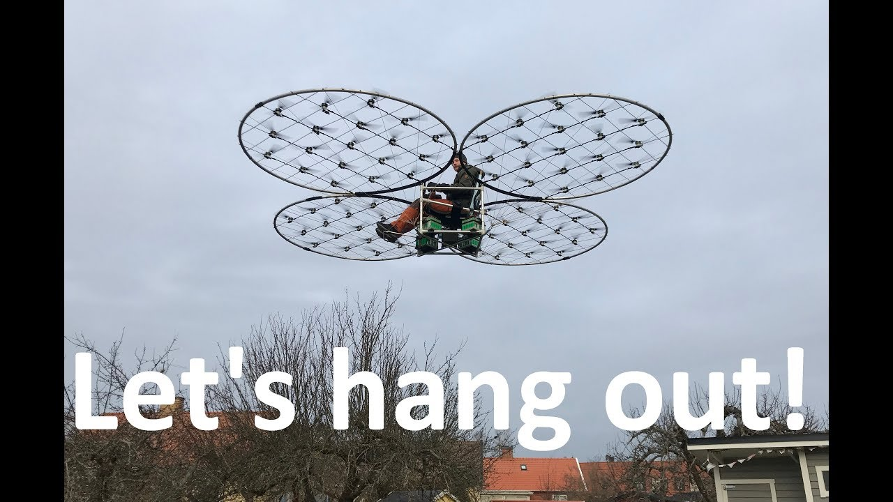 Download chAIR  -Manned quadcopter Episode 30 Actual backyard flight!