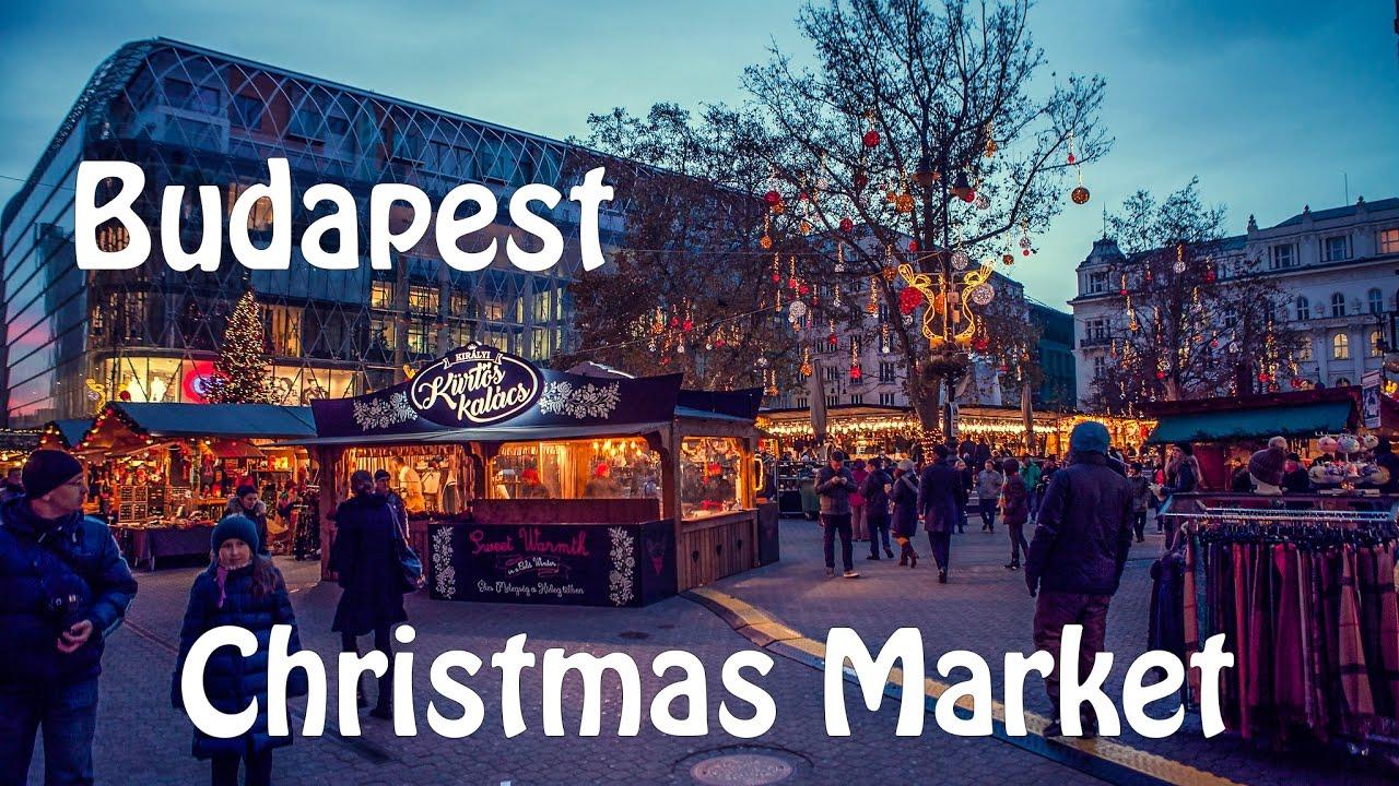 travel budapest christmas market 2016 sj5000x elite youtube