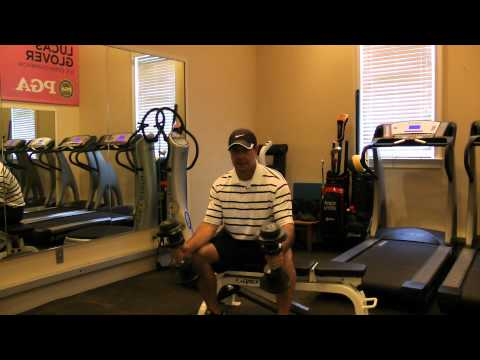 Golf Fitness Exercises – Weight Training for Golf (see more videos free at www.mygogi.org)