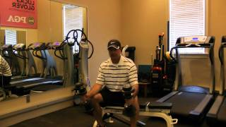 Golf Fitness Exercises - Weight Training for Golf (see more videos free at www.mygogi.org)