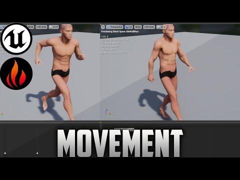 Unreal Engine 4 - Blendspace & Movement #7