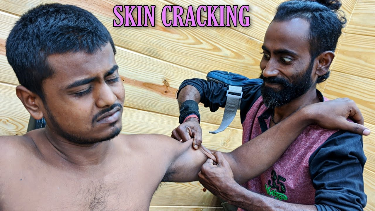 New talent of Skin Cracking / He is another master | Head massage with Neck Cracking | ASMR