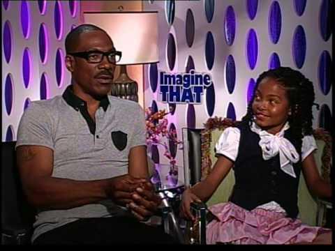 Eddie Murphy, Yara Shahidi interview for Imagine That