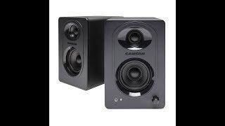 samson media one M30 speakers unboxing and setup