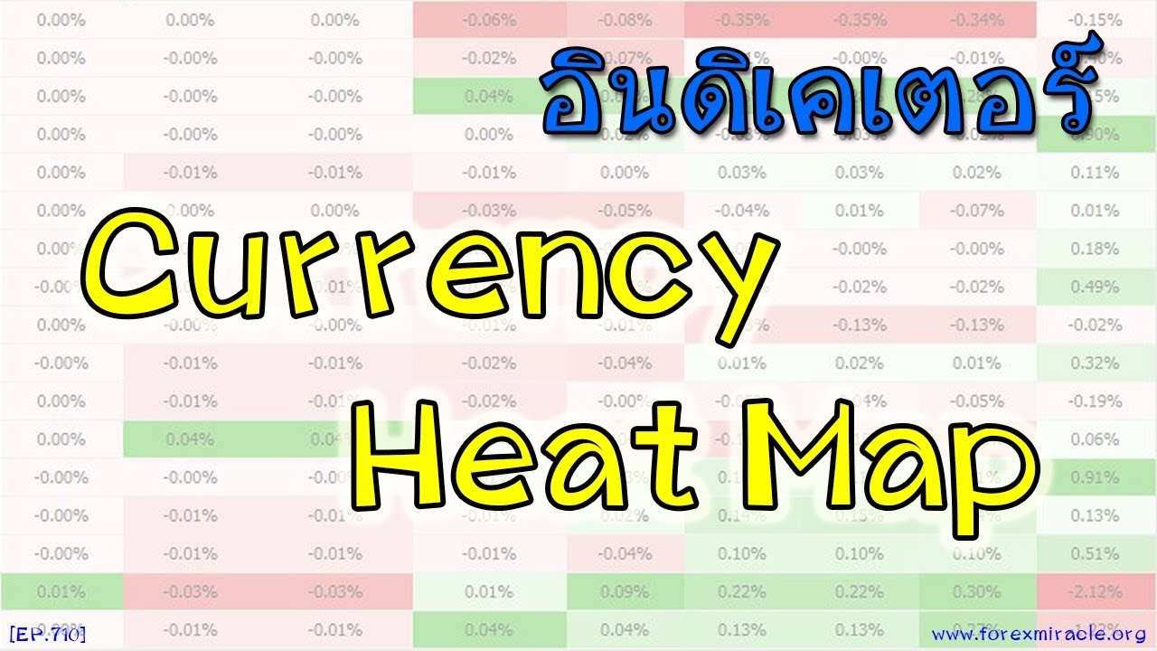 Forex currency heat map