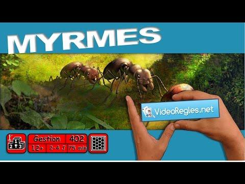 "Vidéorègle jeu de société "" Myrmes "" par Yahndrev (#402)"