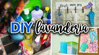 DIY - Ideias FÁCEIS e BARATAS de decoração para a lavanderia #2 - #CasaFamíliaeBláBláBlá