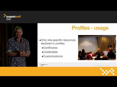 Puppet Best Practices: Roles & Profiles – Gary Larizza at PuppetConf 2016