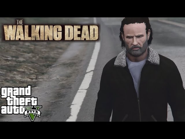 The Walking Dead GTA V