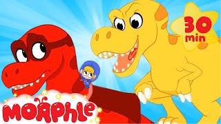 Dinosaur Superhero Morphle  | Cartoons for Kids | My Magic Pet Morphle | Morphle TV