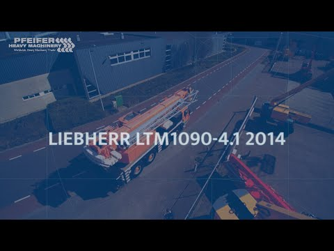 Liebherr LTM1090-4.1 2014 from YouTube · Duration:  6 minutes 28 seconds