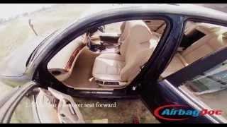 BMW passenger seat occupancy sensor mat bypass installation - airbag light warning fix