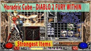 Horadric Cube Jewel Recipes - DIABLO 2 Fury Within - Create strongest items