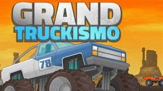 Grand Truckismo Walkthrough, Gameplay, Monster Truck Racing Games