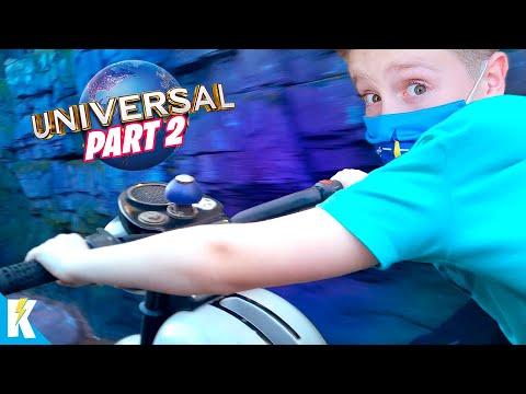 Universal Orlando Trip Day 2! (Harry Potter & Jurassic Park POV Rollercoasters!) K-City Family |