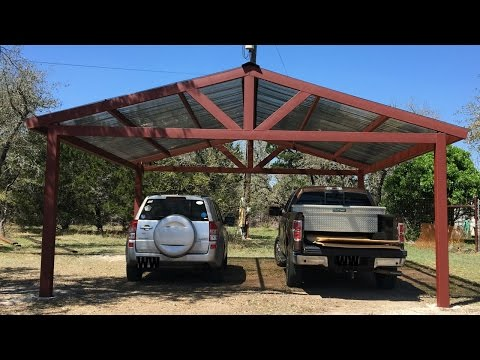 Building a Metal Carport - Part 2