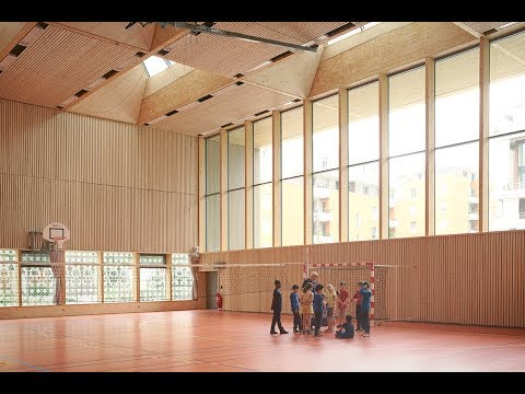 Gymnase « Alice Milliat » à Lyon 69