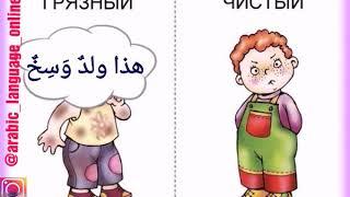 Урок арабского языка. Указательные местоимения м. и ж. р ед ч.