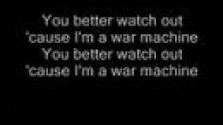 Kiss War Machine